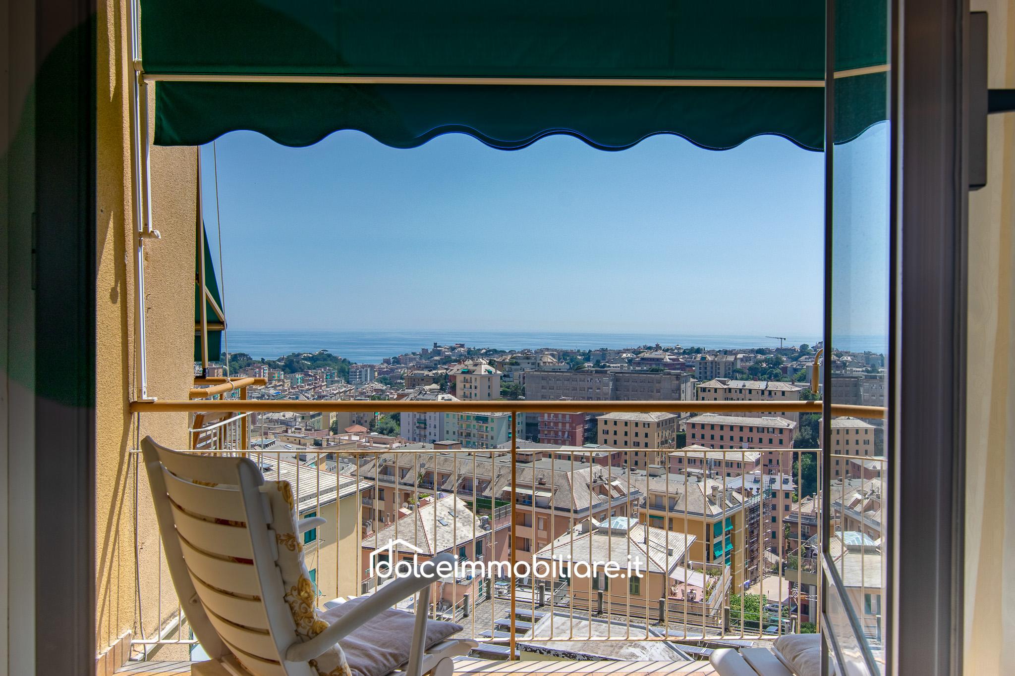 Borgoratti – 10 vani panoramici con box auto