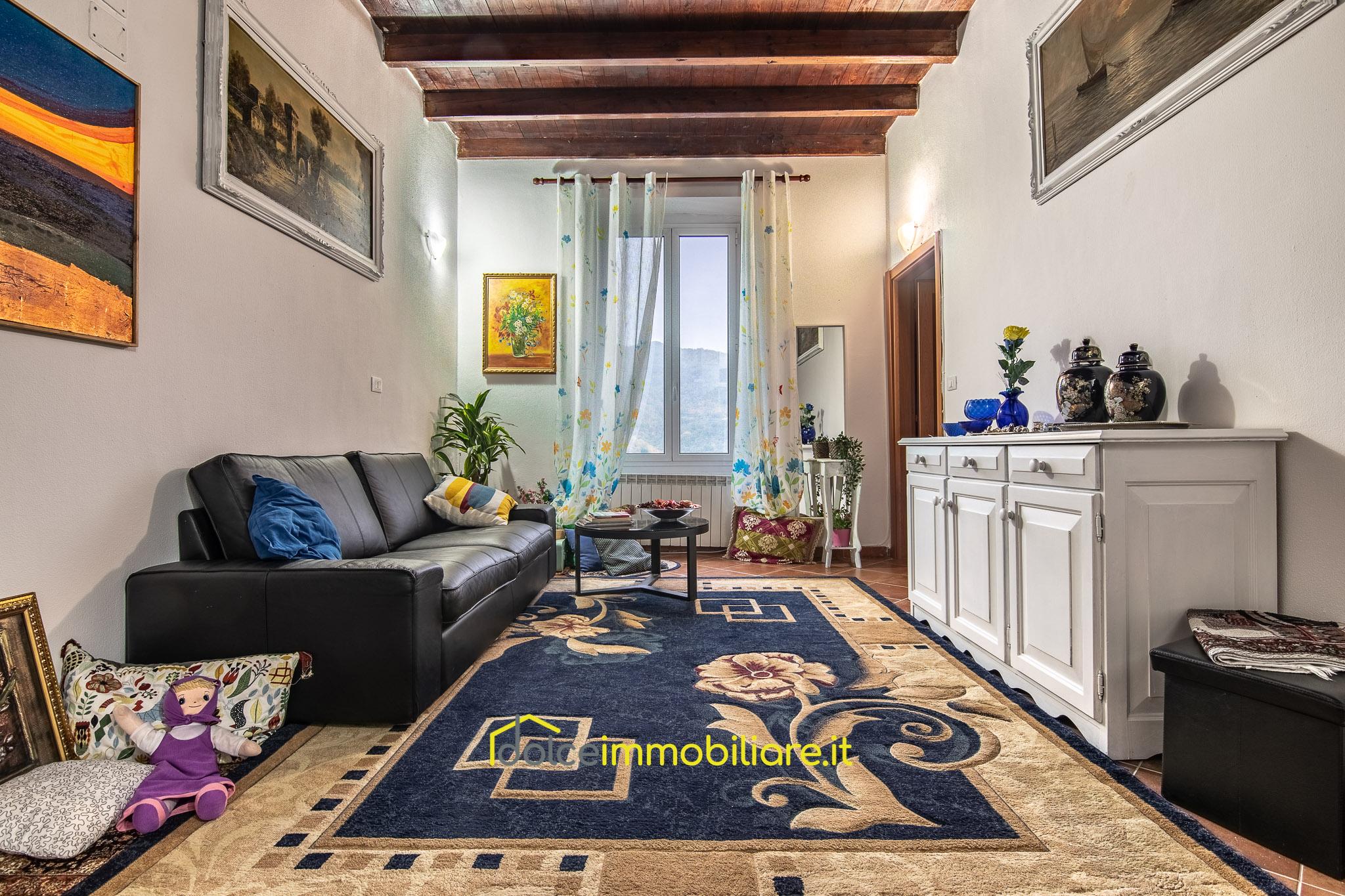 Uscio – Appartamento ristrutturato senza spese condominiali